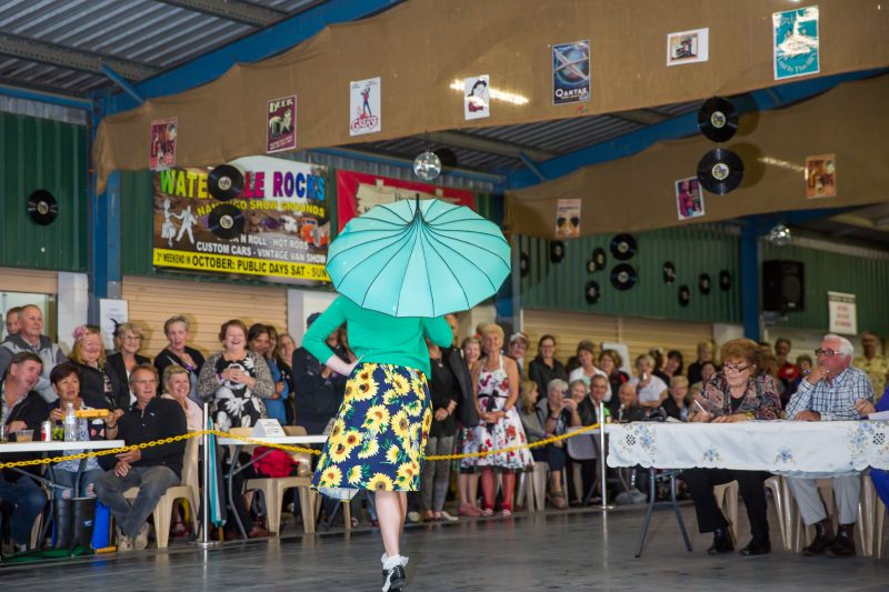 As part of the fun we hold a Fashion Parade for the Guys and Gals