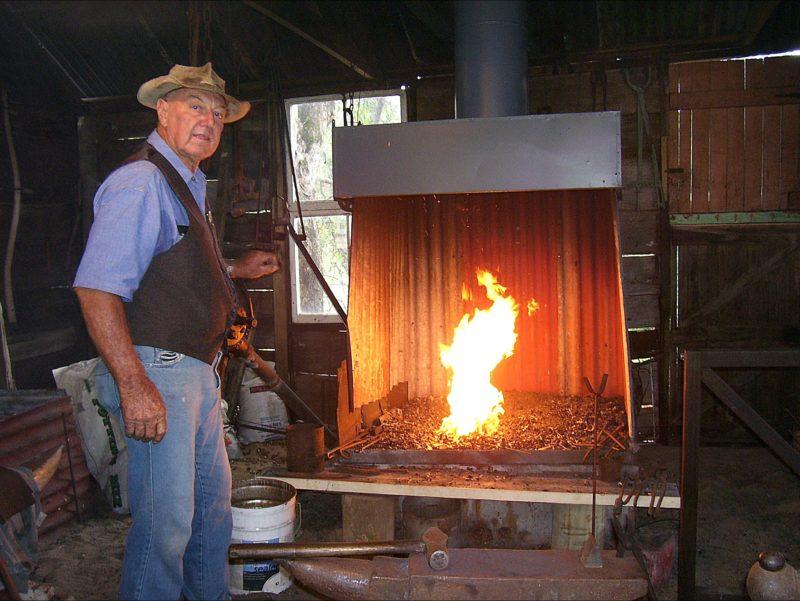Harold Collins Blacksmith