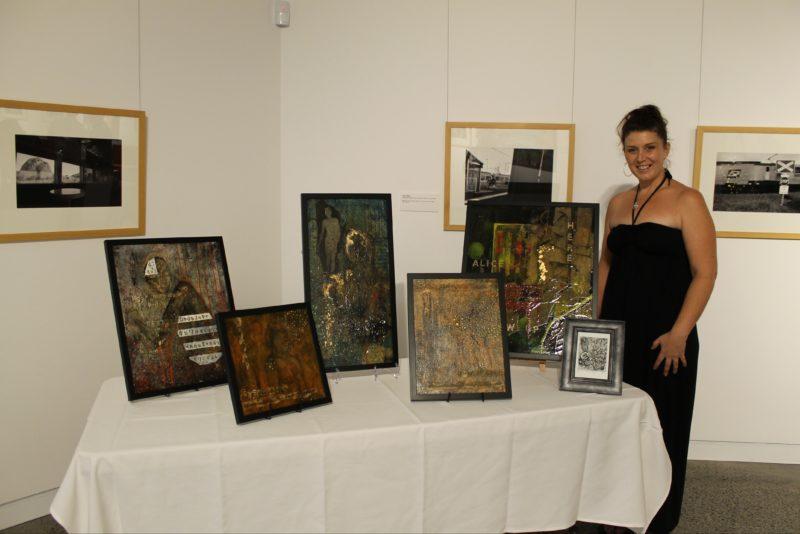 Susie Lewis - Art Demonstration stall