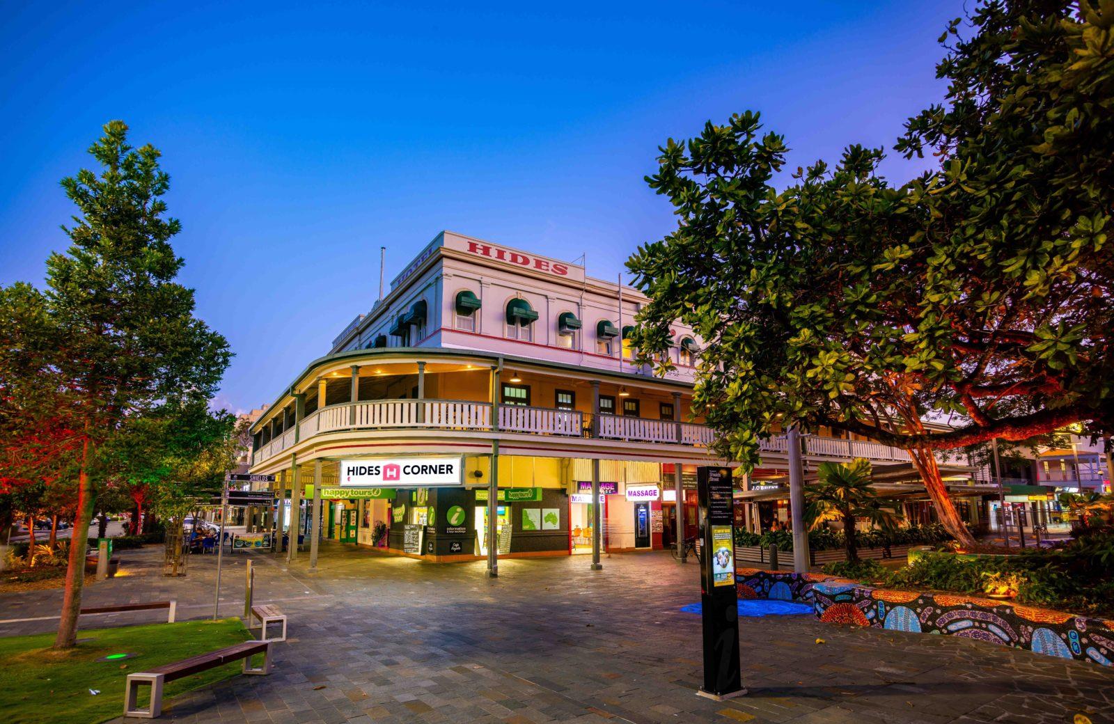 Hides Hotel external