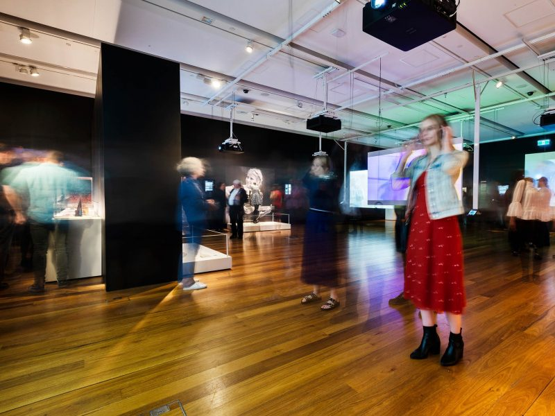 High Rotation exhibition at Museum of Brisbane