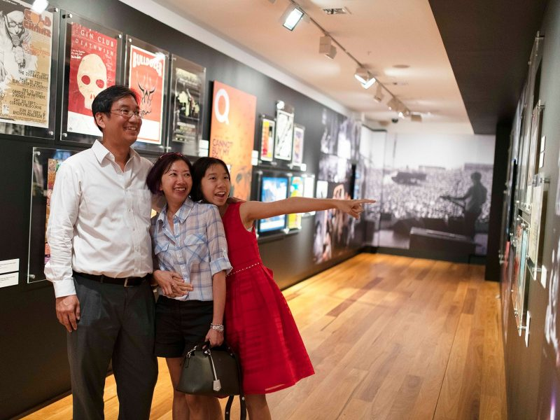 Museum of Brisbane's family High Rotation tour