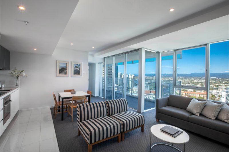 Hilton Surfers Paradise - Residence Living Area