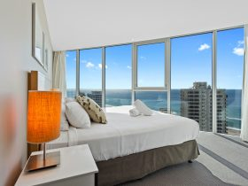 Luxury Bedding and Ocean Views