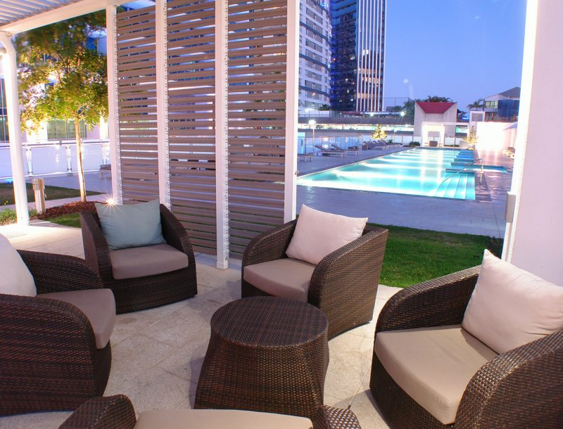 Relax by the pool at The H Residences