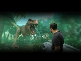 holographic dinosaur experience holoverse