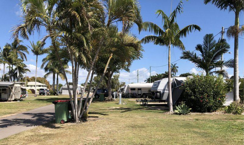 Caravan Sites at Home Hill Caravan Park