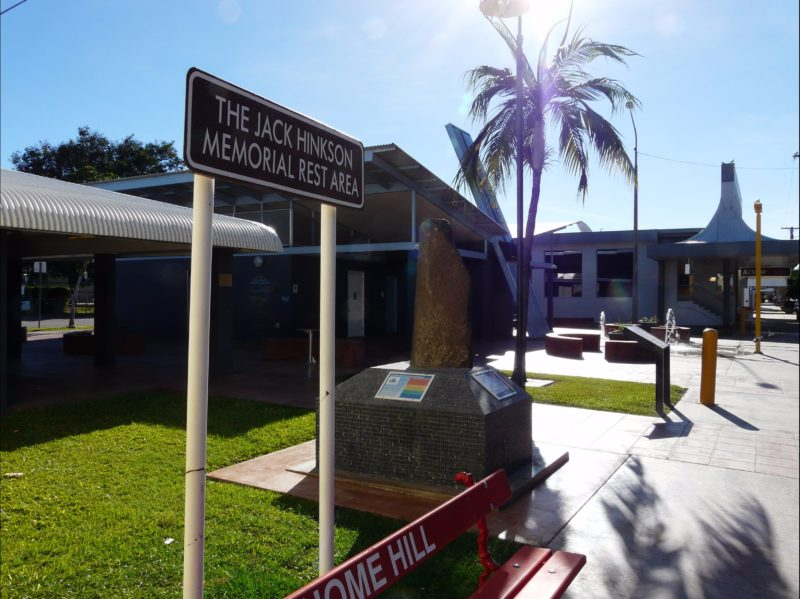 The Home Hill Comfort Stop has artwork, memorials and information, along with excellent facilities.