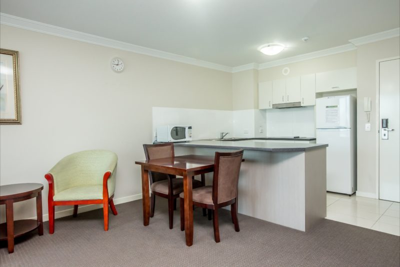 1 Bedroom Unit - Kitchen / Dining