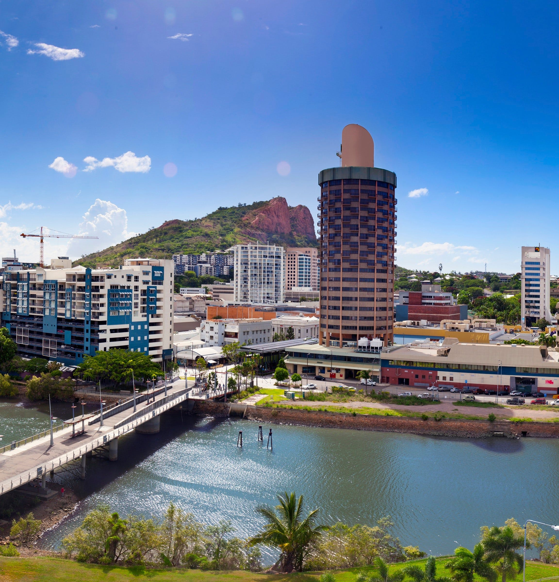 Located in the heart of Townsville CBD