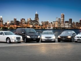 Luxury chauffeured vehicles available