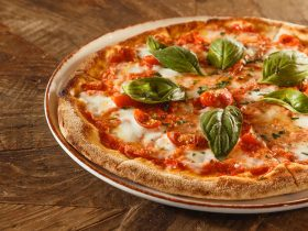 housemade margherita pizza