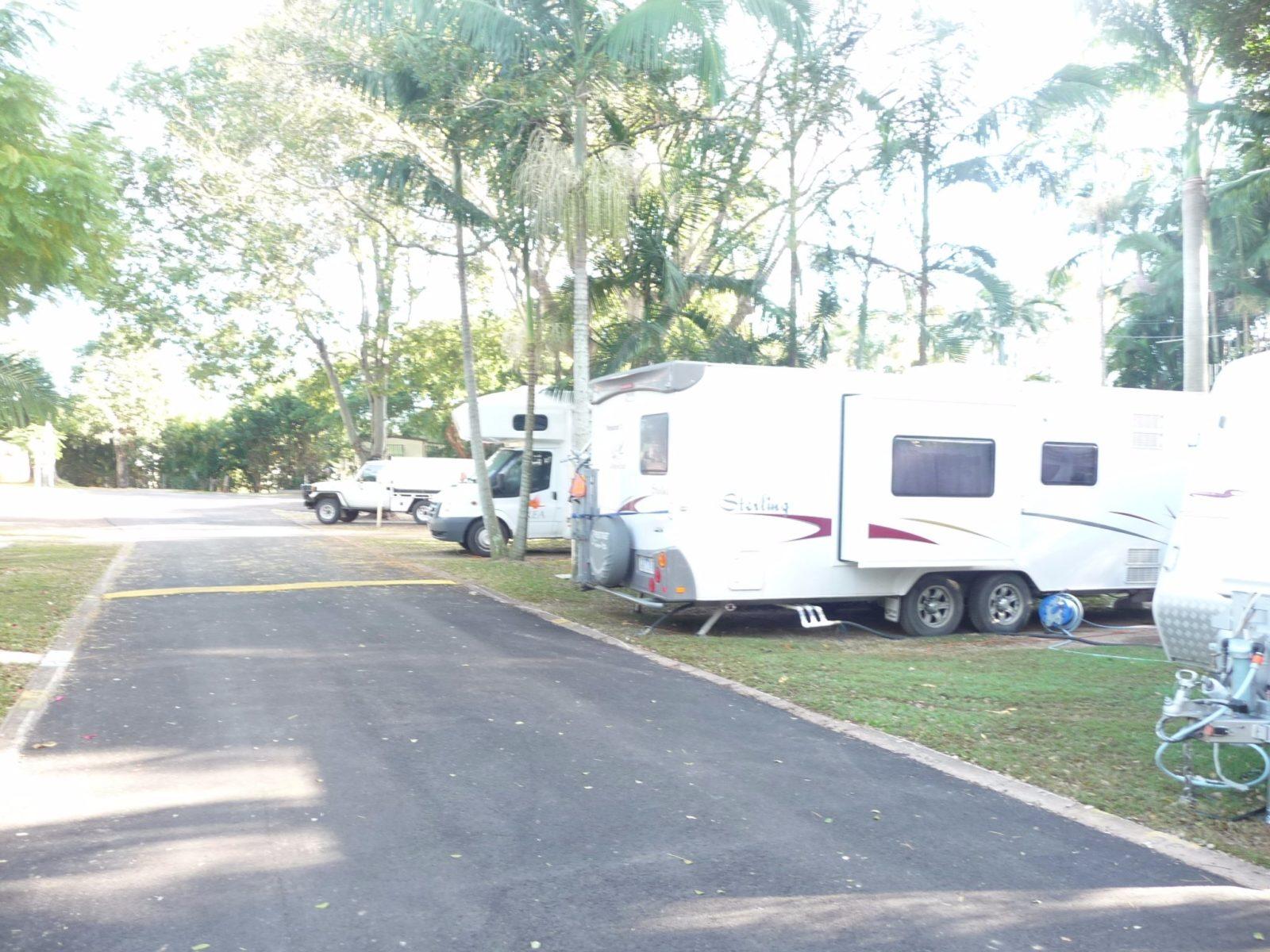 Caravan and Motorhome Sites