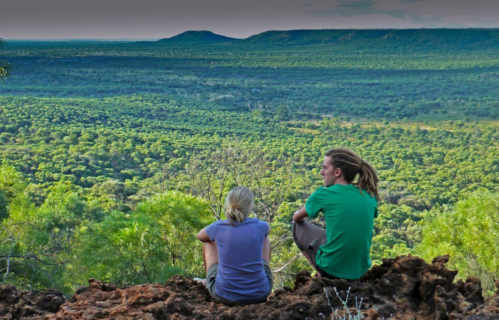 View over Idalia National Park