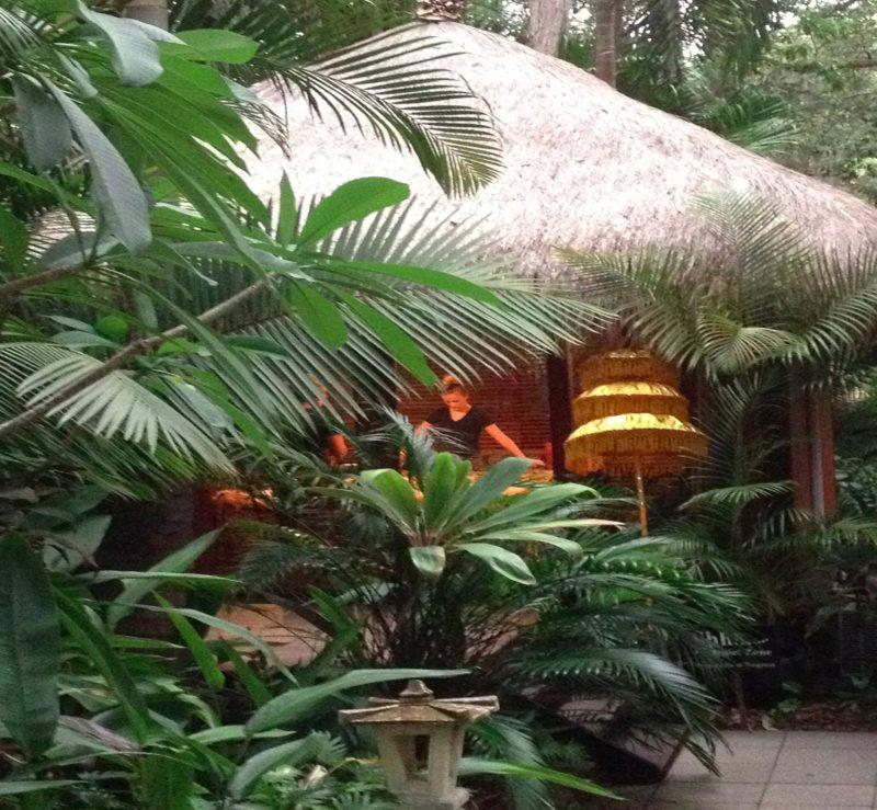 pavilion room at ikatan spa