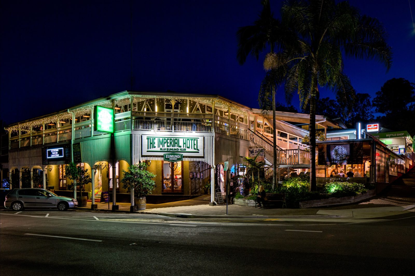 The Imperial Hotel and Eumundi Brewery