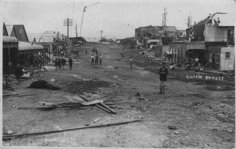 1918 Cyclone Townsville Museum Photo