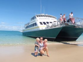 Day trips to Great Keppel Island
