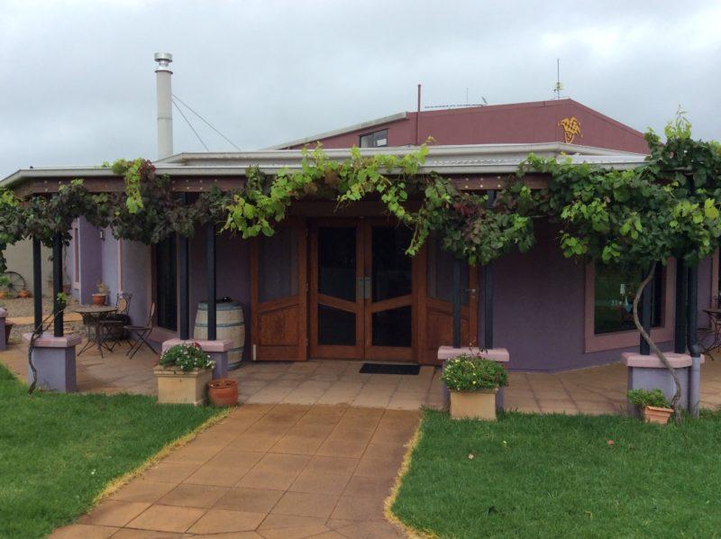 Jester Hill Wines beautiful Cellar Door entrance