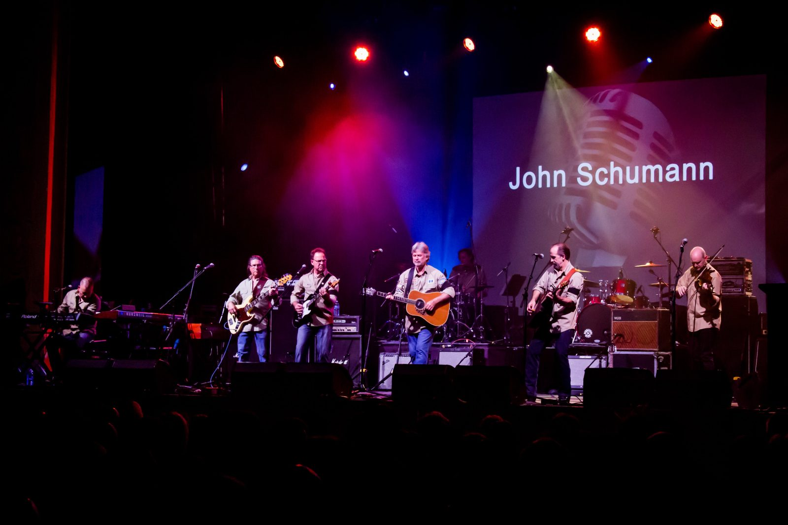 John Schumann and The Vagabond Crew - at The Imperial Hotel Eumundi on Sunday 20 October