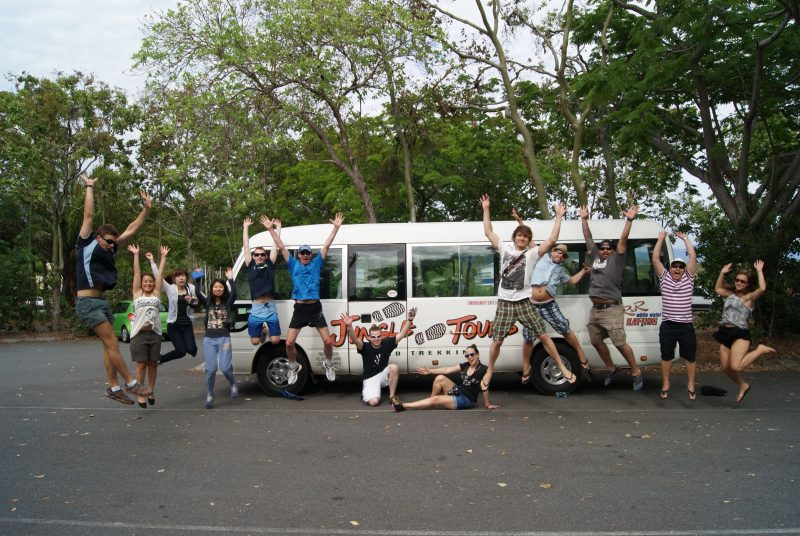 Jungle Tours Bus
