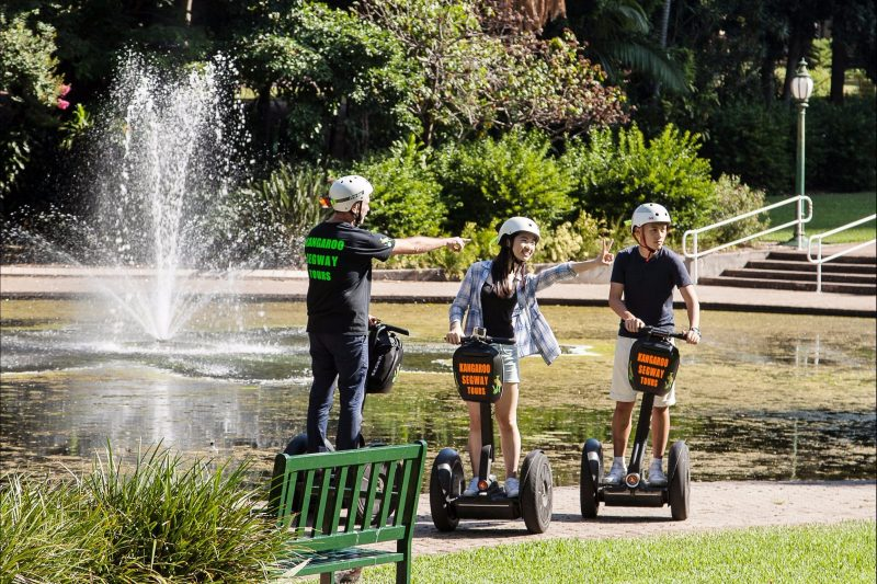 Have fun and Segway through scenic Botanical Gardens