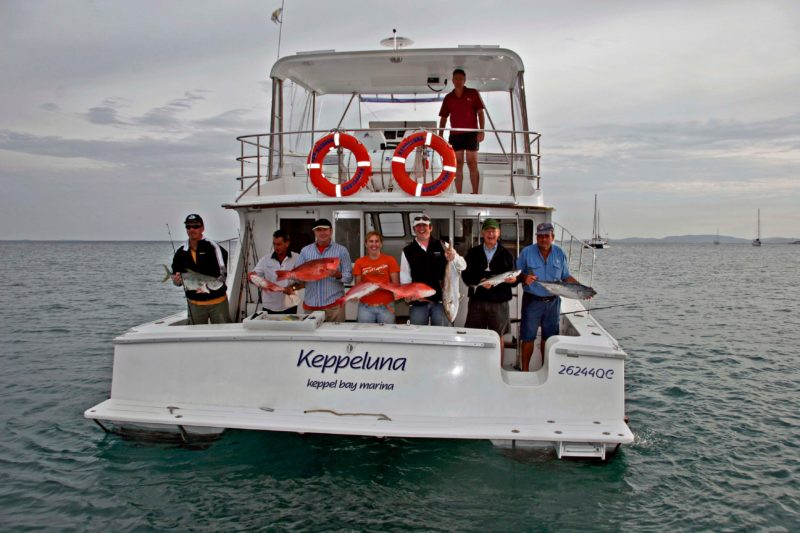 Take a fishing charter on a private vessel to catch the best of The Keppel Islands fish!