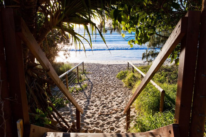 Key Largo - Steps to Our Beach