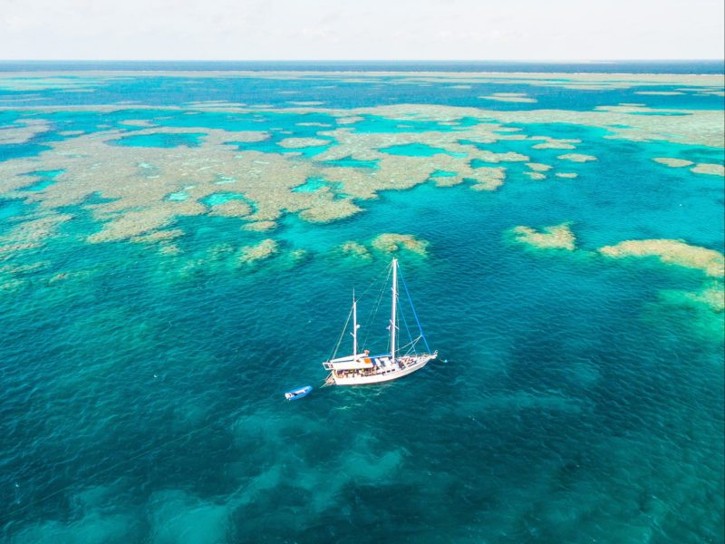 Sail & Dive the Outer Great Barrier Reef aboard Kiana - Whitsundays Sailing Adventures