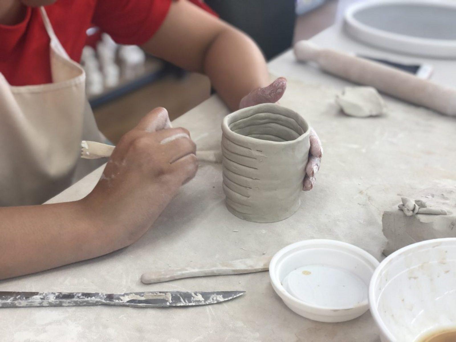 Kids Clay Hand Building Class