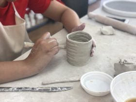 Kids Clay Hand Building Class