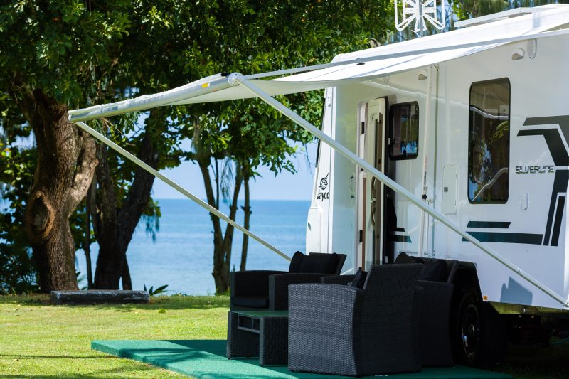 King Reef Resort Camping on Kurrimine Beach
