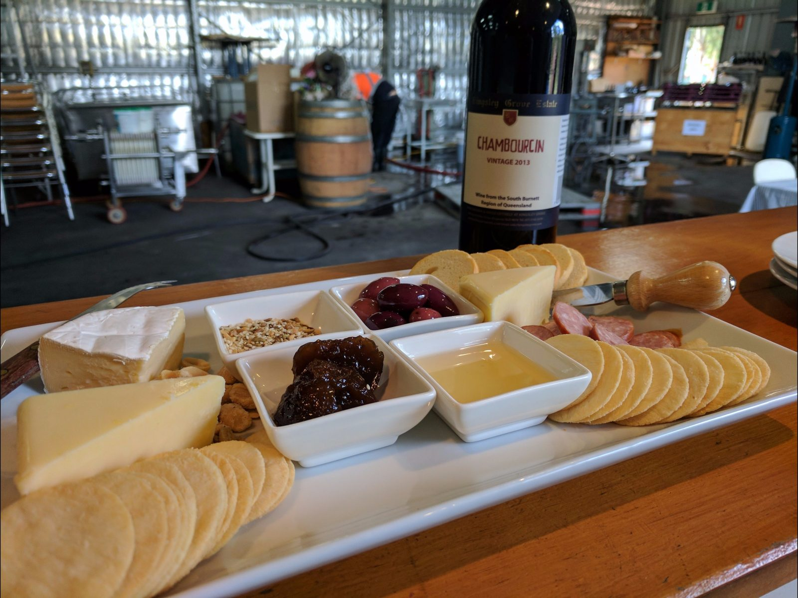 Locally Sourced Cheese Platters