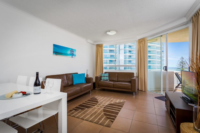 Example of two bed ocean view apartment