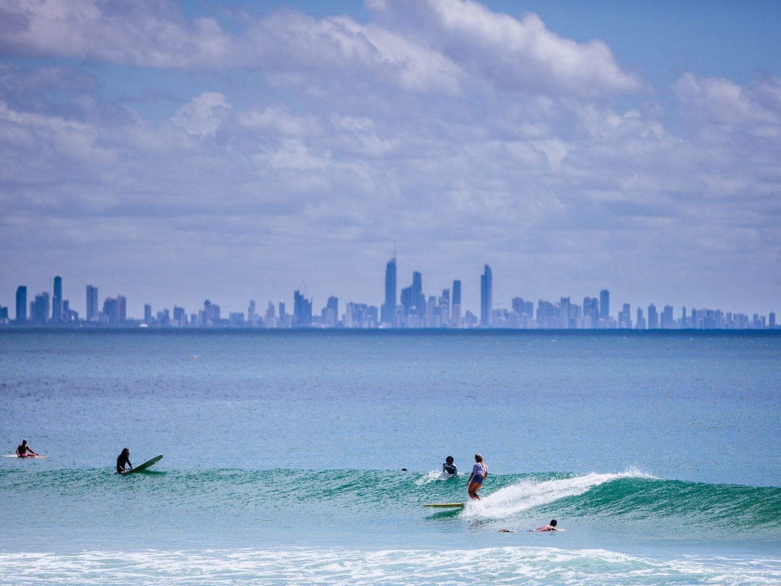 View of the Gold Coast from Kirra Point