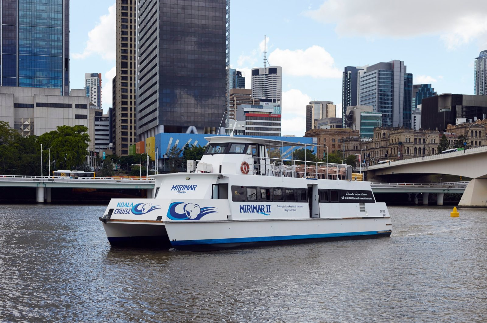 Cruise on the Brisbane River