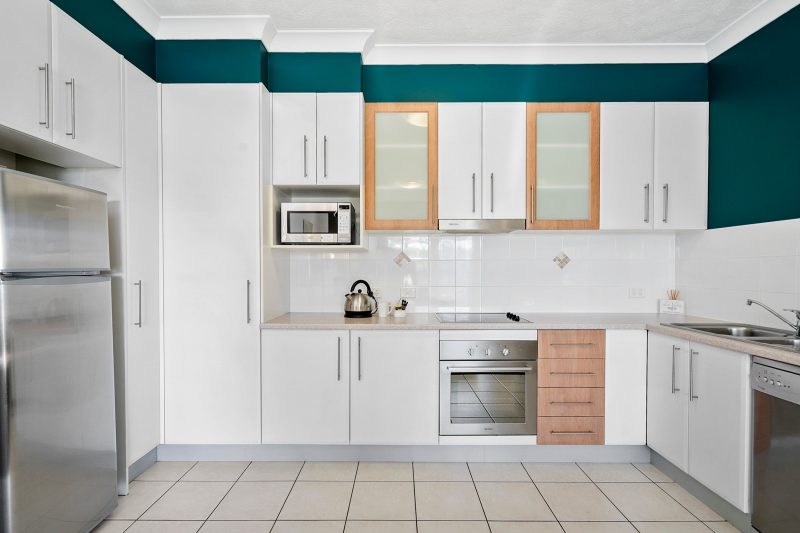 Self catering, fully equipped kitchen to enjoy doing your home cooking in