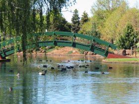 Lake Annand Bridge