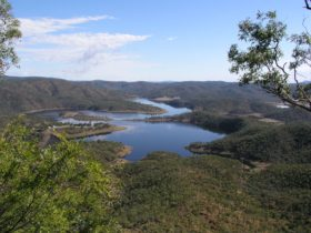 Lake Cania in the Monto District