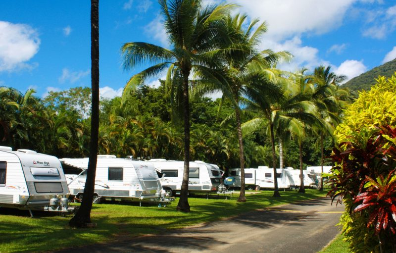 Spacious Caravan Sites in Cairns