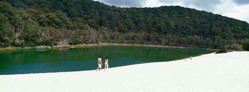 Lake Wabby, Fraser Island.