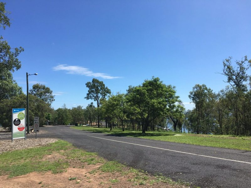 Entrance to Lake Wivenhoe Campground