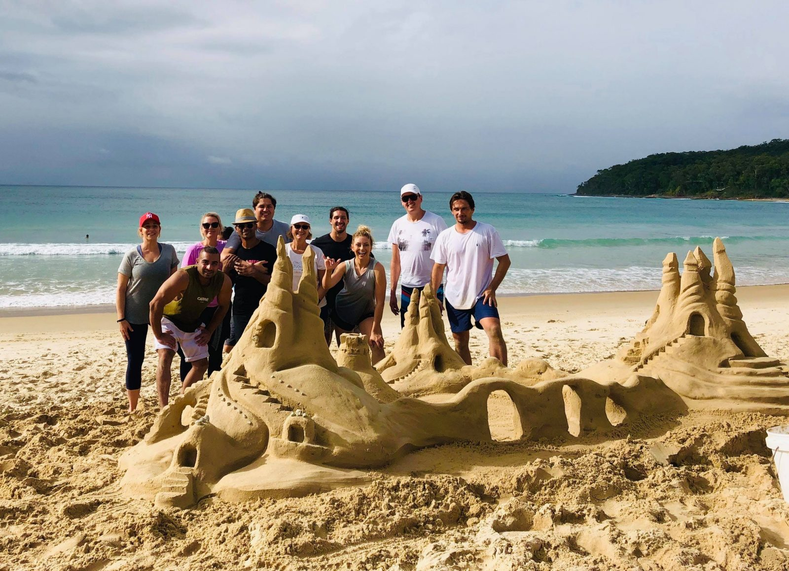 sandcastle activity noosa