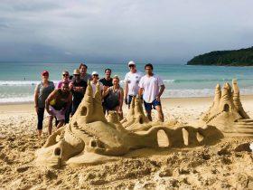 sandcastle activity noosa