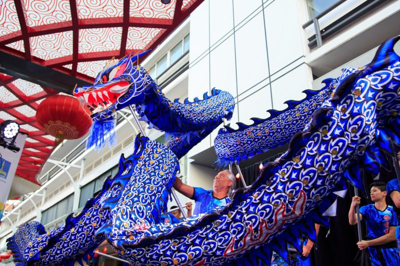 Dragon Dance Lunar New Year
