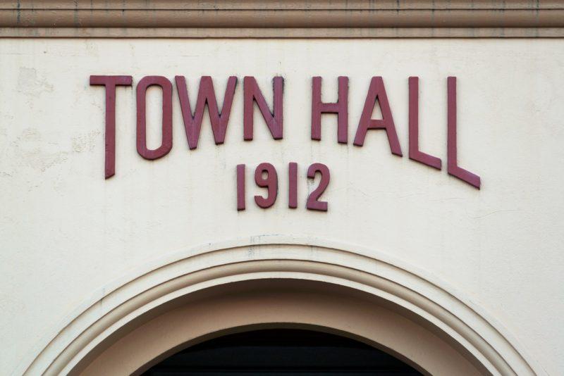 town hall 1912 mackay