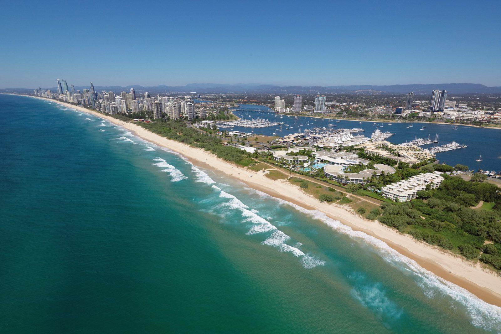 Main Beach aerial