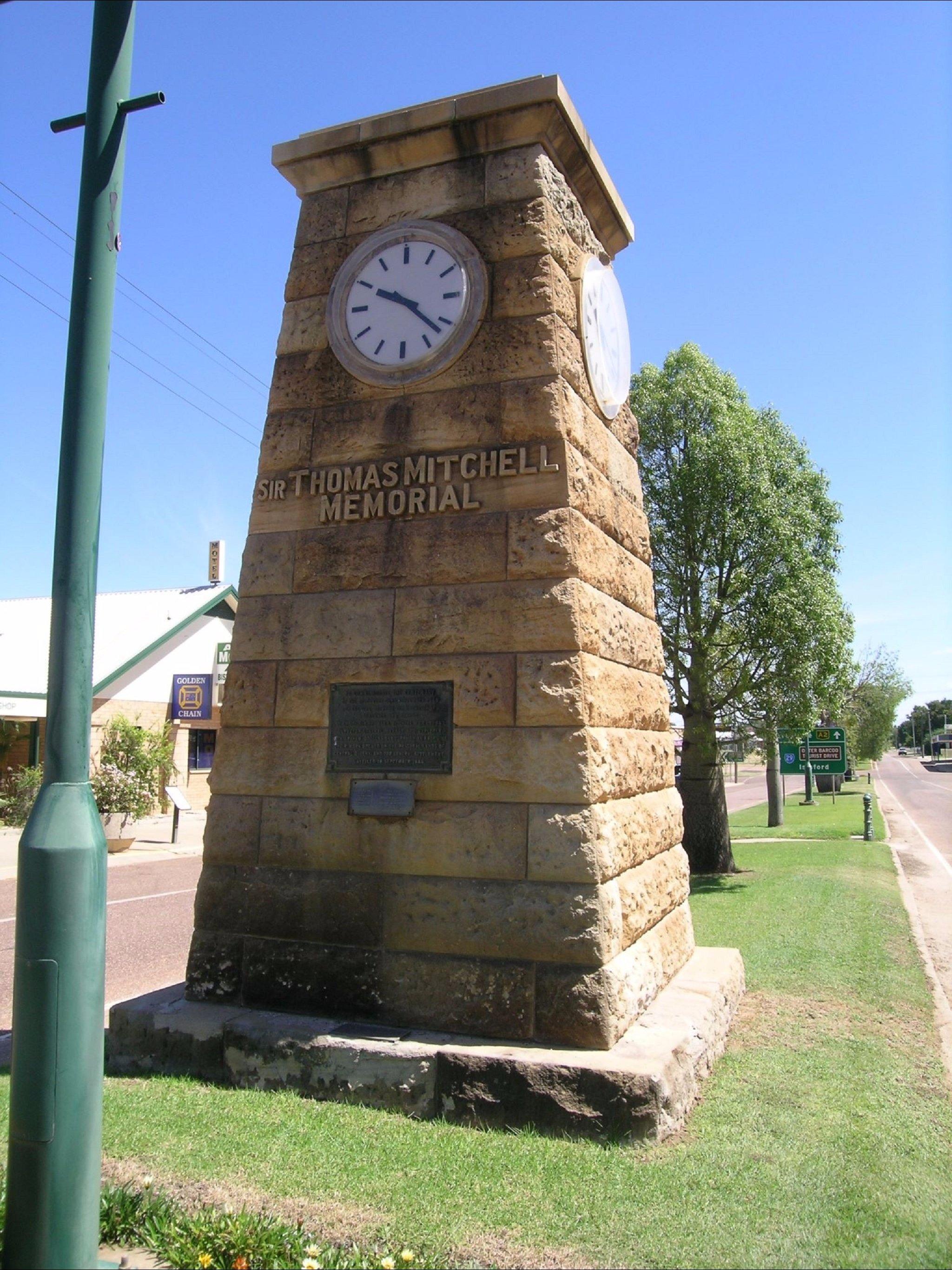 Major Mitchell Memorial