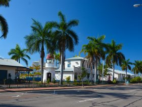 The Maritime Museum of Townsville as viewed from Palmer Street