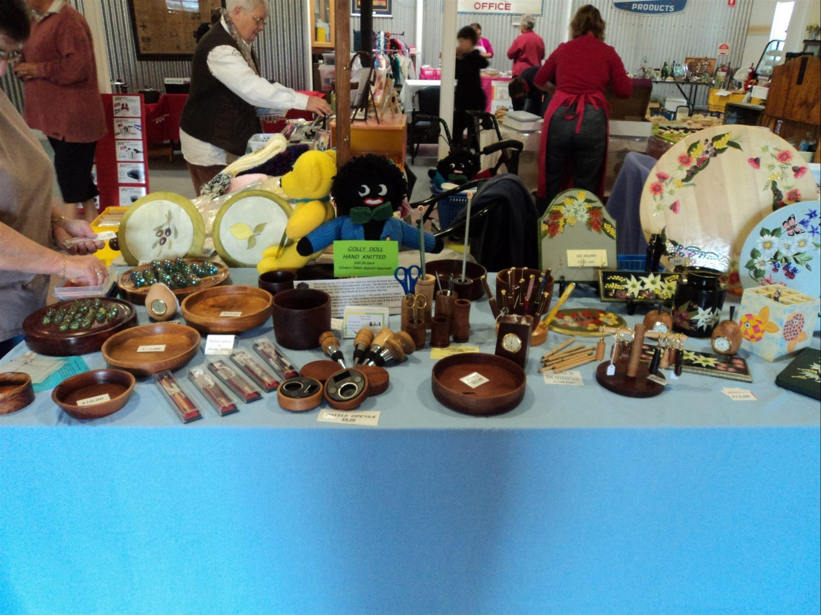 Nifty gifts to buy at the markets! Always something different and home made!